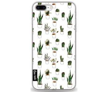 Plants in White Pots - Apple iPhone 8 Plus