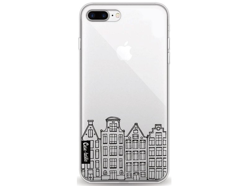 Casetastic Softcover Apple iPhone 8 Plus - Amsterdam Canal Houses