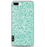 Casetastic Softcover Apple iPhone 8 Plus - Abstract Pattern Turquoise
