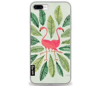 Flamingos Green - Apple iPhone 8 Plus