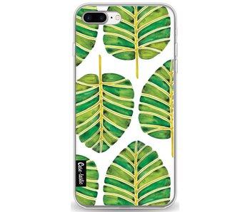 Green Alocasia Pattern - Apple iPhone 8 Plus
