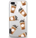 Casetastic Softcover Apple iPhone 8 Plus - Coffee To Go
