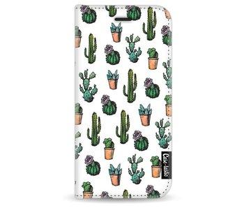 Cactus Dream - Wallet Case White Apple iPhone 7/8