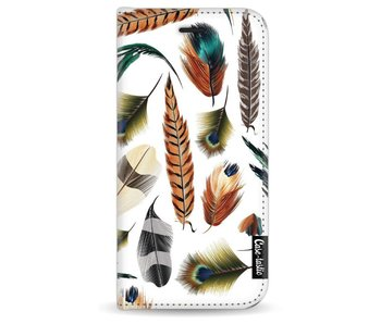 Feathers Multi - Wallet Case White Apple iPhone 7