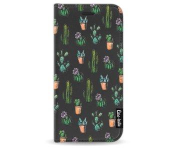 Cactus Dream - Wallet Case Black Apple iPhone 7/8