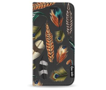 Feathers Multi - Wallet Case Black Apple iPhone 7