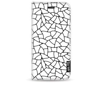 Transparent Mosaic - Wallet Case White Apple iPhone 7/8