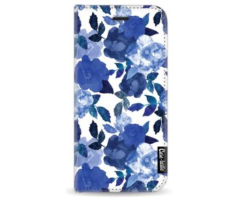 Royal Flowers - Wallet Case White Apple iPhone 7