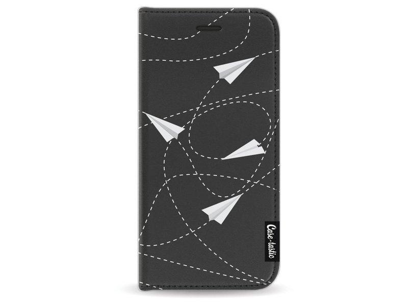 Casetastic Wallet Case Black Apple iPhone 7/8 - Paperplanes