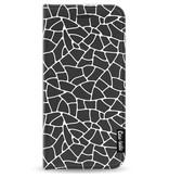 Casetastic Wallet Case Black Apple iPhone 7/8 - Transparent Mosaic White