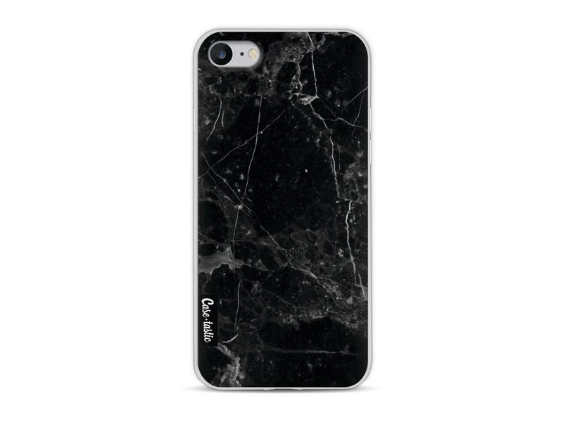 Casetastic Softcover Apple iPhone 8 - Black Marble