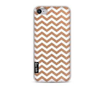 Copper Chevron - Apple iPhone 8