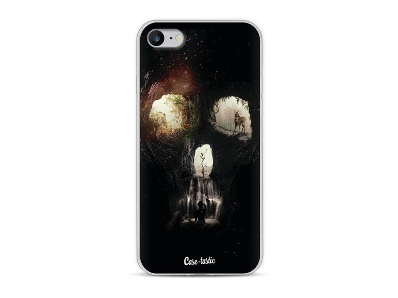 Casetastic Softcover Apple iPhone 8 - Cave Skull
