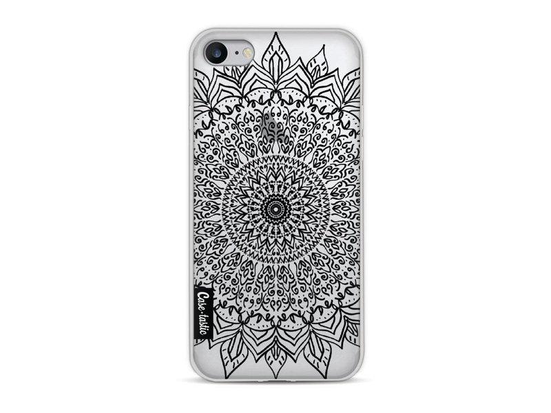 Casetastic Softcover Apple iPhone 8 - Black Mandala
