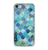 Casetastic Softcover Apple iPhone 8 - Aqua Moroccan Tiles
