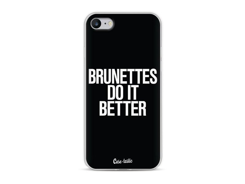 Casetastic Softcover Apple iPhone 8 - Brunettes Do It Better