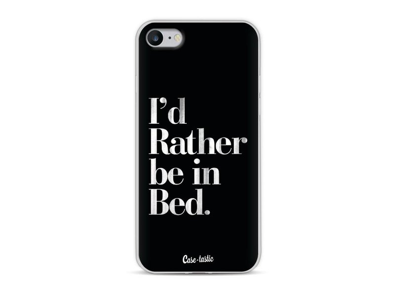 Casetastic Softcover Apple iPhone 8 - Rather Be In Bed