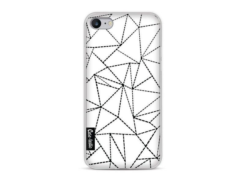 Casetastic Softcover Apple iPhone 8 - Abstract Dotted Lines