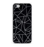 Casetastic Softcover Apple iPhone 8 - Abstract Dotted Lines Black