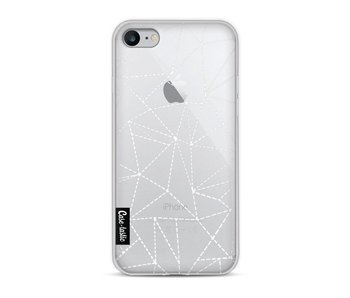 Abstract Dotted Lines Transparent - Apple iPhone 8