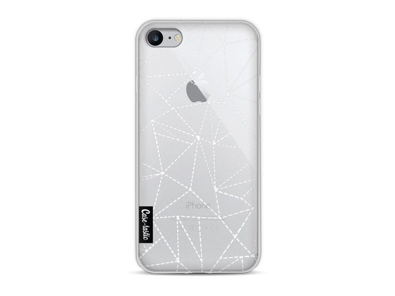 Casetastic Softcover Apple iPhone 8 - Abstract Dotted Lines Transparent