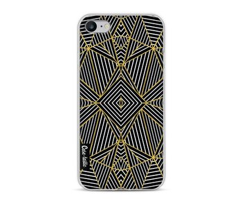Abstraction Half Gold - Apple iPhone 8