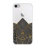 Casetastic Softcover Apple iPhone 8 - Abstraction Half Transparent