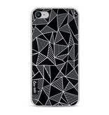 Casetastic Softcover Apple iPhone 8 - Abstraction Lines Black