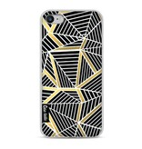 Casetastic Softcover Apple iPhone 8 - Abstraction Lines Black Gold