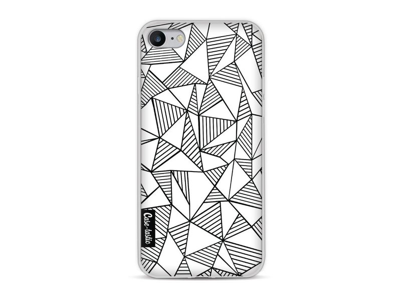 Casetastic Softcover Apple iPhone 8 - Abstraction Lines White