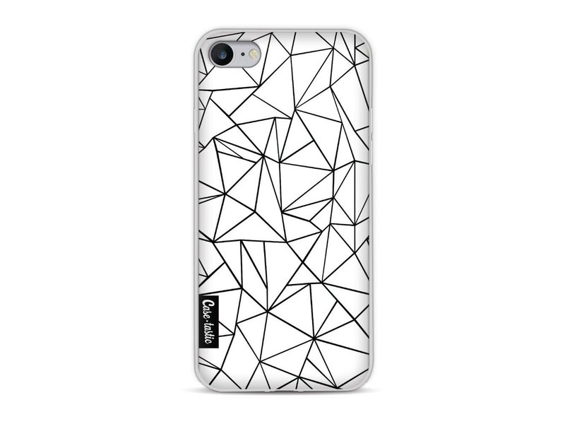 Casetastic Softcover Apple iPhone 8 - Abstraction Outline