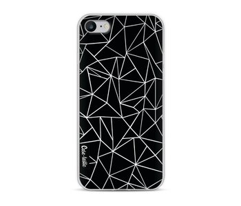 Abstraction Outline Black - Apple iPhone 8