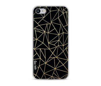 Abstraction Outline Gold - Apple iPhone 8