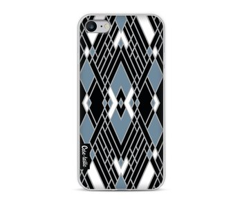 Art Deco Blue - Apple iPhone 8