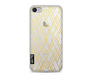 Art Deco Gold Transparent - Apple iPhone 8
