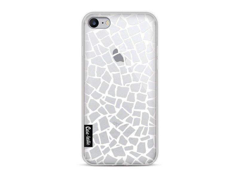Casetastic Softcover Apple iPhone 8 - British Mosaic White Transparent