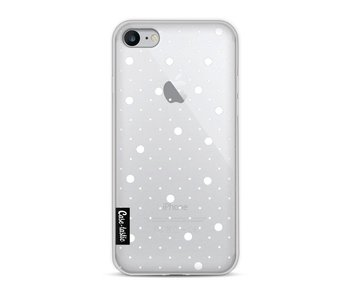 Pin Points Polka Transparent - Apple iPhone 8