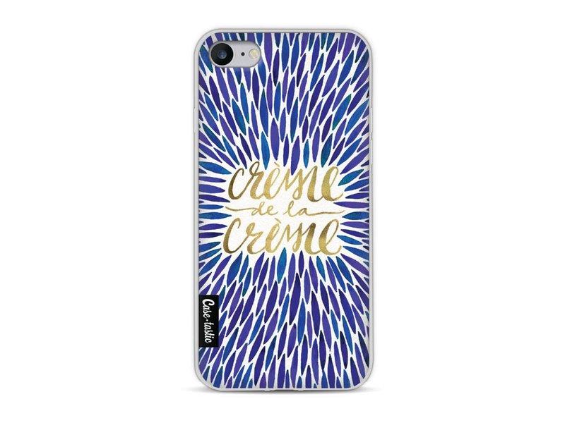 Casetastic Softcover Apple iPhone 8 - Creme de la Creme Navy