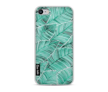 Tropical Leaves Turquoise - Apple iPhone 8