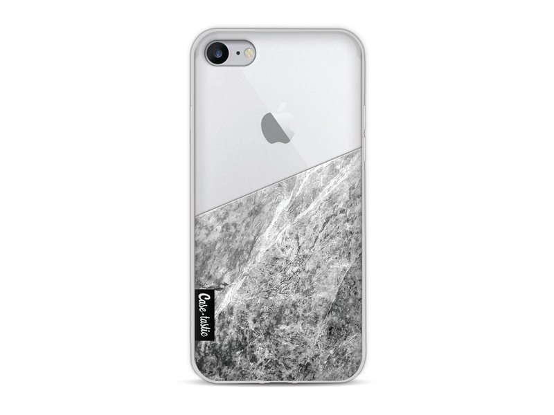 Casetastic Softcover Apple iPhone 8 - Marble Transparent