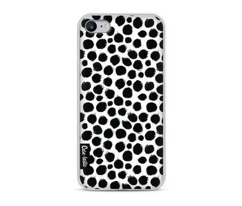 Black Dotted - Apple iPhone 8