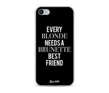 Every Blonde Needs A Brunette Black - Apple iPhone 8