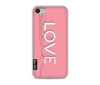 Love Neon Pink - Apple iPhone 8