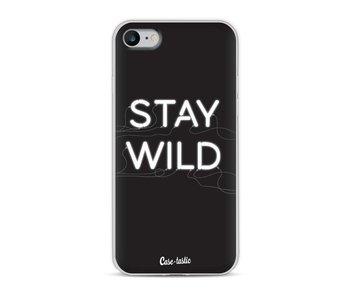 Stay Wild Neon - Apple iPhone 8
