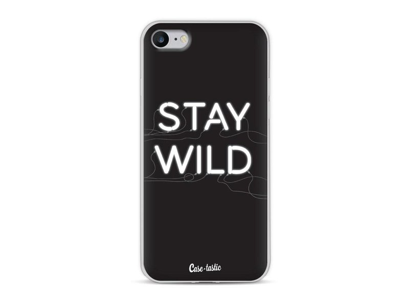Casetastic Softcover Apple iPhone 8 - Stay Wild Neon