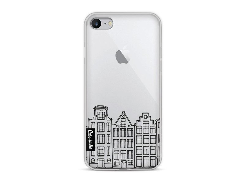 Casetastic Softcover Apple iPhone 8 - Amsterdam Canal Houses
