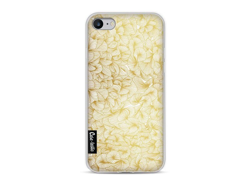 Casetastic Softcover Apple iPhone 8 - Abstract Pattern Gold