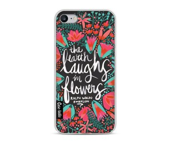 Laughs Flowers Charcoal - Apple iPhone 8