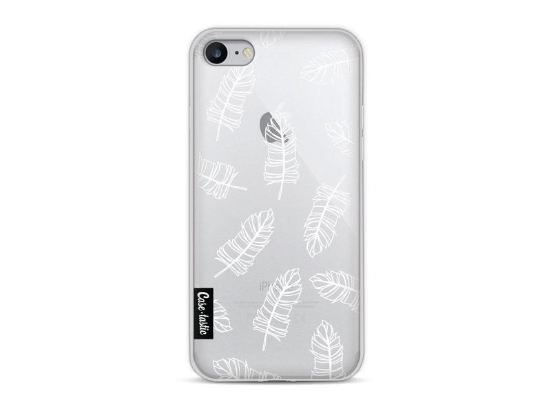 Casetastic Softcover Apple iPhone 8 - Feathers Outline