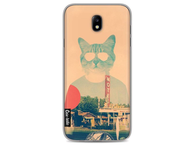 Casetastic Softcover Samsung Galaxy J7 (2017) - Cool Cat